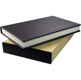 105AD Leather A5 Notebook