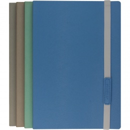 Yorkley Mink Pastel Ruled & Pointed A5 Flexible Notebooks with Elastic