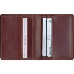 Protector RFID Credit Card Wallet - Genuine Leather