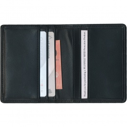 Protector RFID Credit Card Wallet - Split Leather