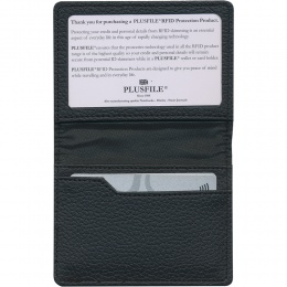 Protector RFID Credit Card Wallet with ID Window - Armonia PU