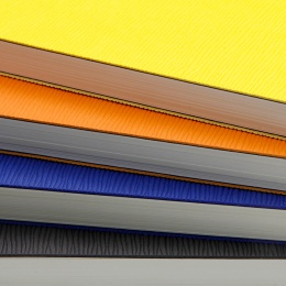 York Slimwave Ruled & Numbered A5 Flexible Notebooks