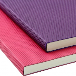 York Diamenta Ruled & Numbered A5 Flexible Notebooks